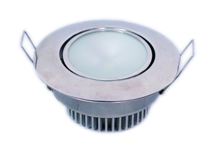 LED Ceiling Light, w/ Swivel Lens