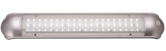 LED Interior Light, with Switch, 10-30VDC