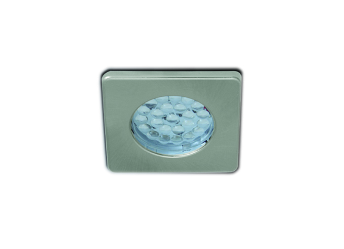 LED Ceiling Light, Made of Plastic, Square