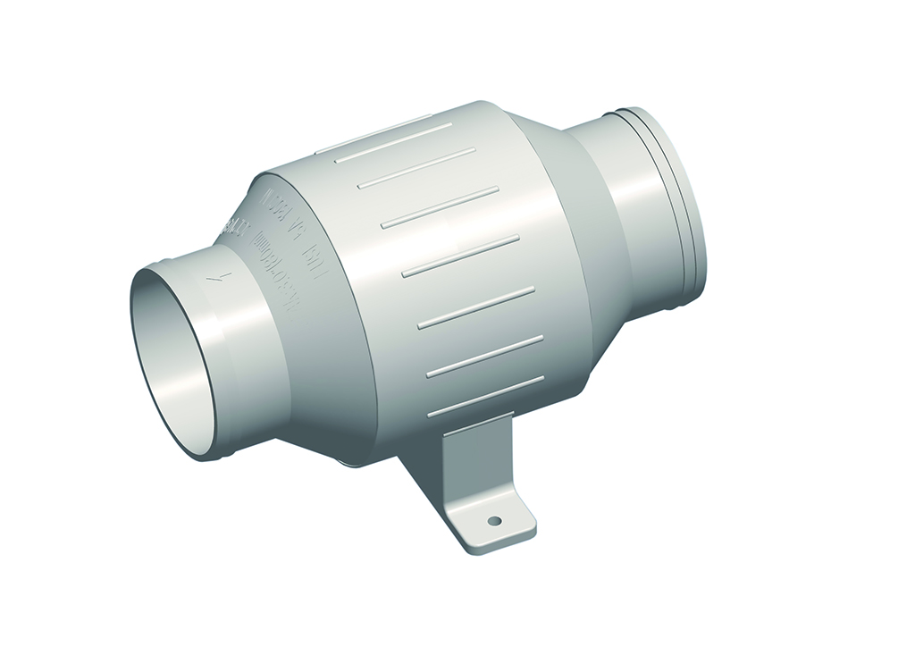Turbo In-Line Blower, 12V