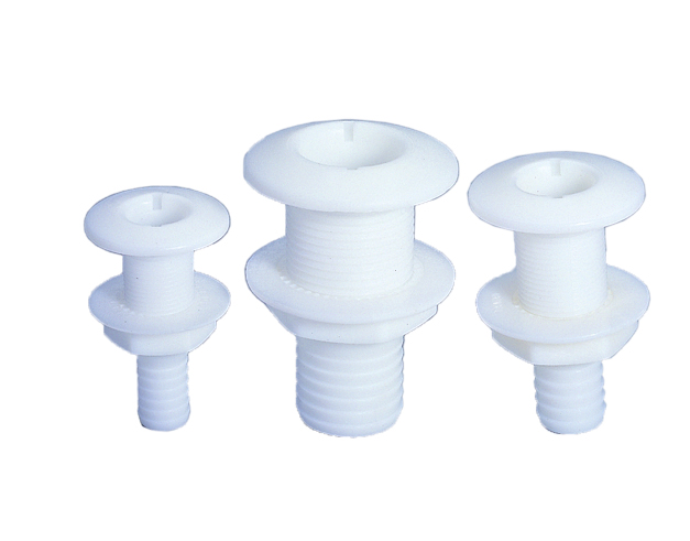 Plastic Thru-Hull Fittings
