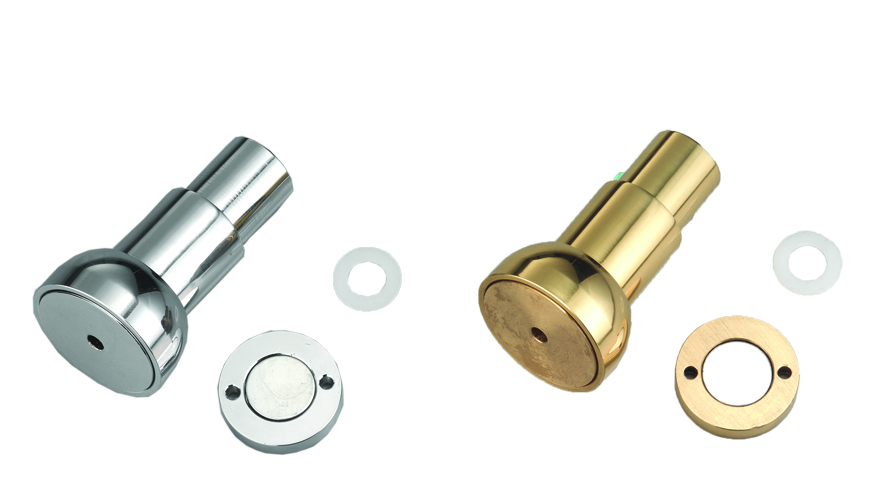 Magnetic Barrel Bolts, Made of Brass