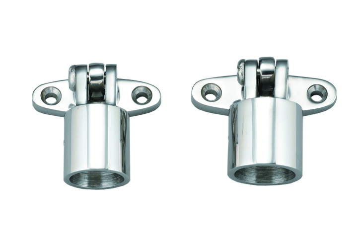 S.S. 316 Swiveling Deck Hinge/ Top Cap Unit